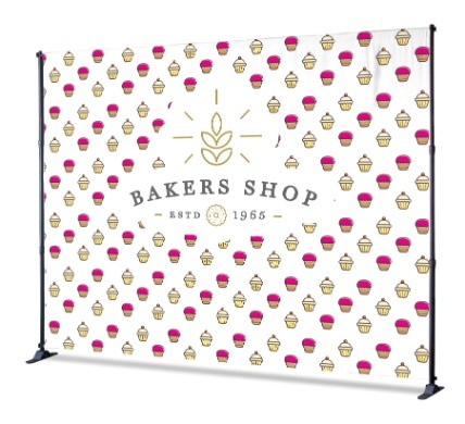 Company Backdrop 1240 - Step and Repeat Banners