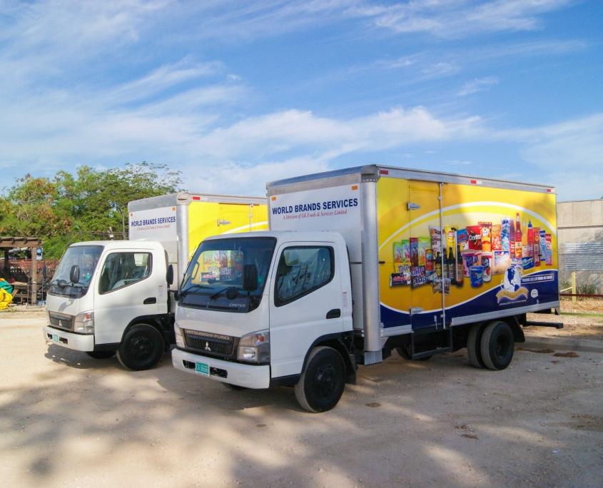 DSC05624 1 845x684 - World Brands - Truck   Fleet Wrap