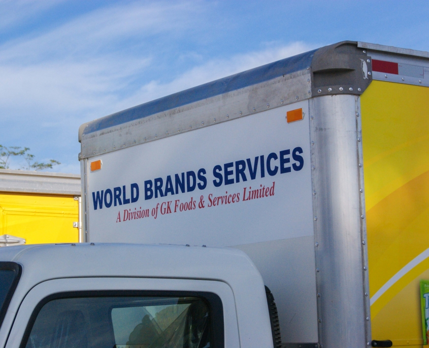 DSC05625 1 845x684 - World Brands - Truck   Fleet Wrap