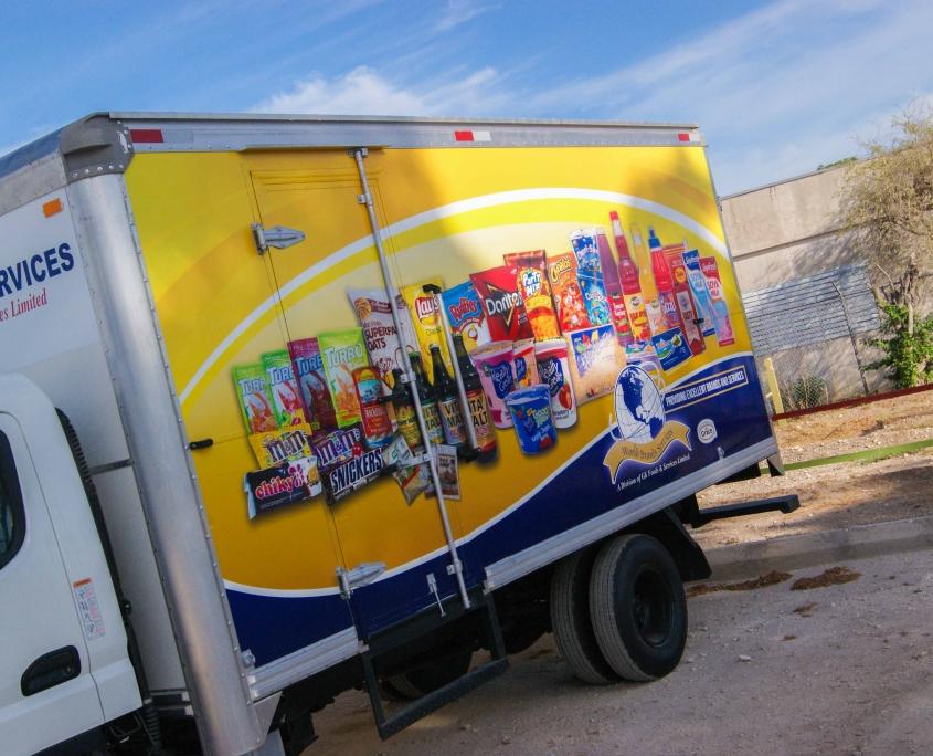 DSC05626 1 845x684 - World Brands - Truck   Fleet Wrap