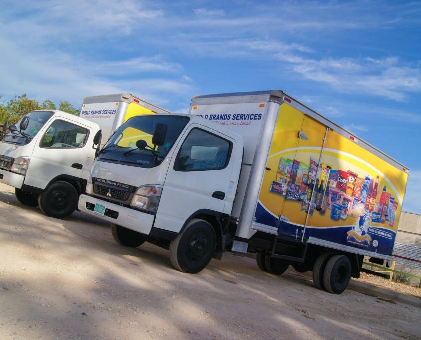 DSC05627 1 845x684 - World Brands - Truck   Fleet Wrap