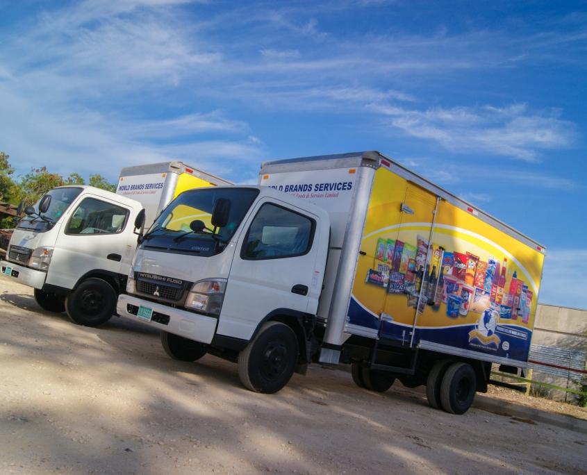 DSC05628 1 845x684 - World Brands - Truck   Fleet Wrap