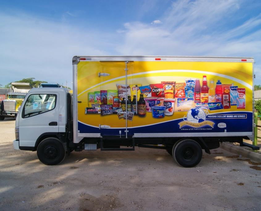 DSC05629 1 845x684 - World Brands - Truck   Fleet Wrap