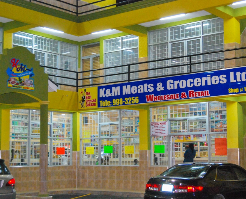DSC 0025 1 845x684 - K & M Meats & Groceries | Illuminated Sign & Wrap