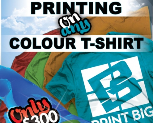 PrintBig t shirt flyer AE 495x400 - Flyers