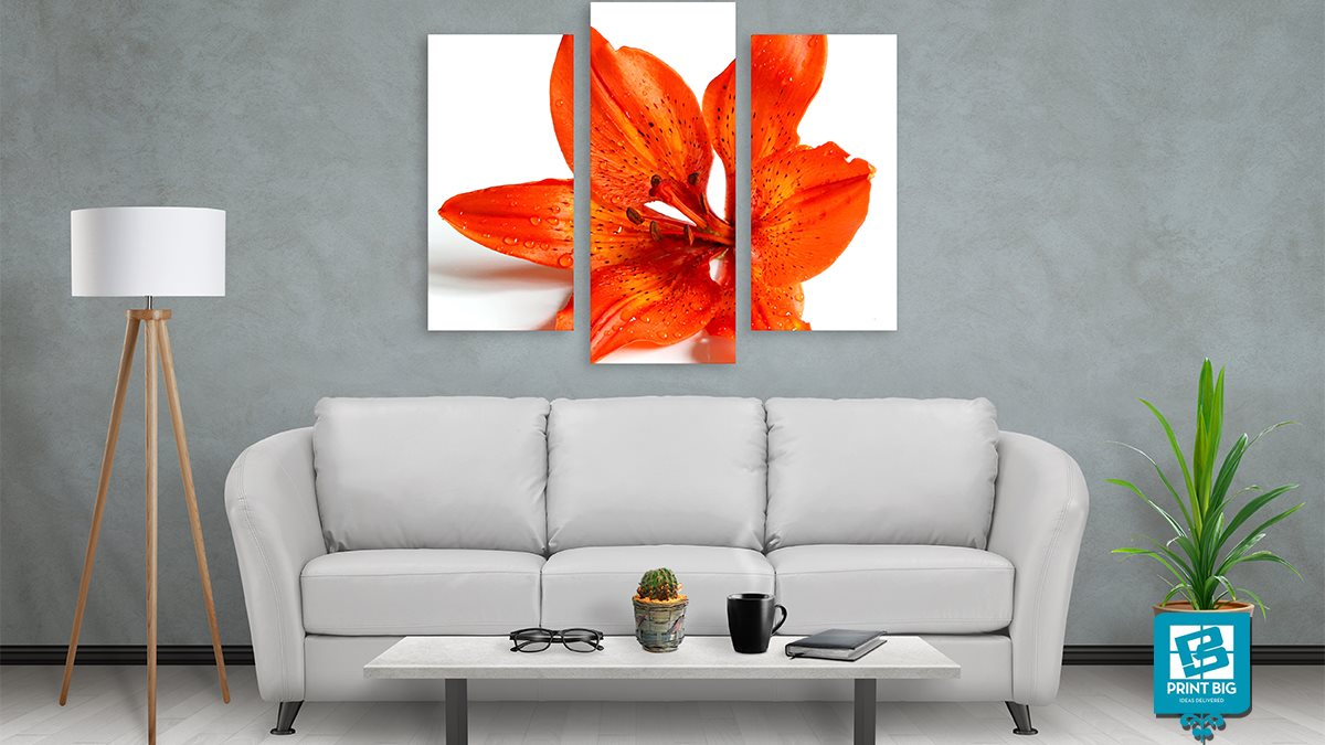 Show off your personal style at home with canvas