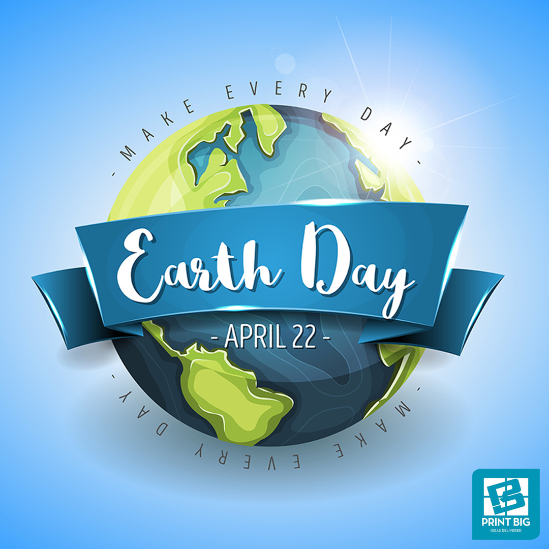 This EarthDay lets be earth positive by doing