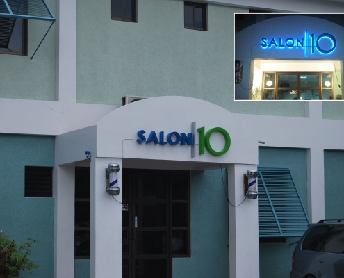 salon10 raise lit sign 1 495x400 - Illuminated Signs