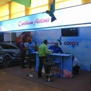 @iflycaribbean display booth @expojamaica Kicked of on Thursday April