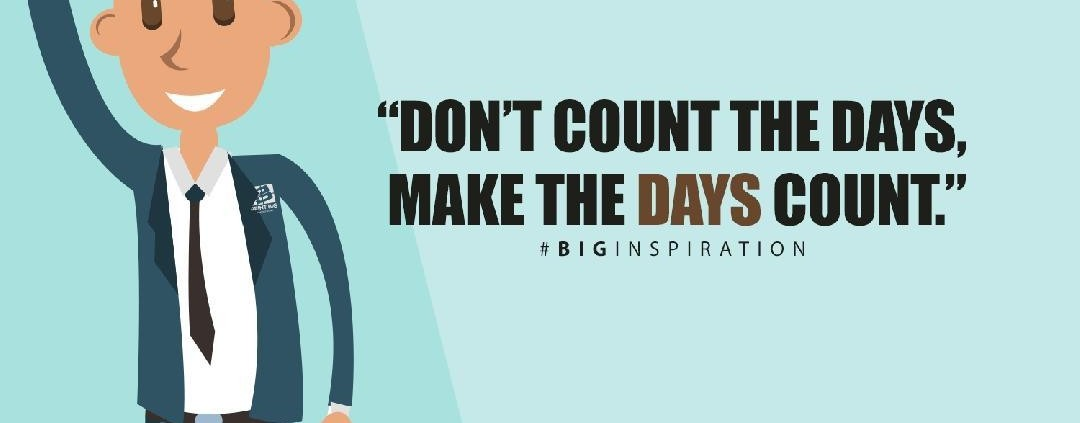 Another inspiring Monday allow room for BIGger growth with a