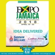 ensuring our clients look their best at the 2018 staging of expo jamaica, april