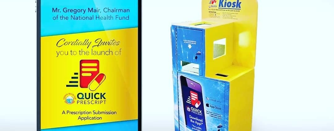 kiosks is here! national health fund launches the prescription app. it's a free