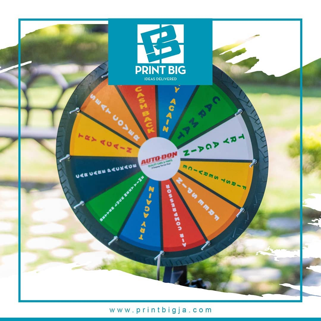 Lets have some custom fun with the 12 Slot Prize.com& nc cat=109 - Lets have some custom fun with the 12 Slot Prize Wheel, can be customized with u