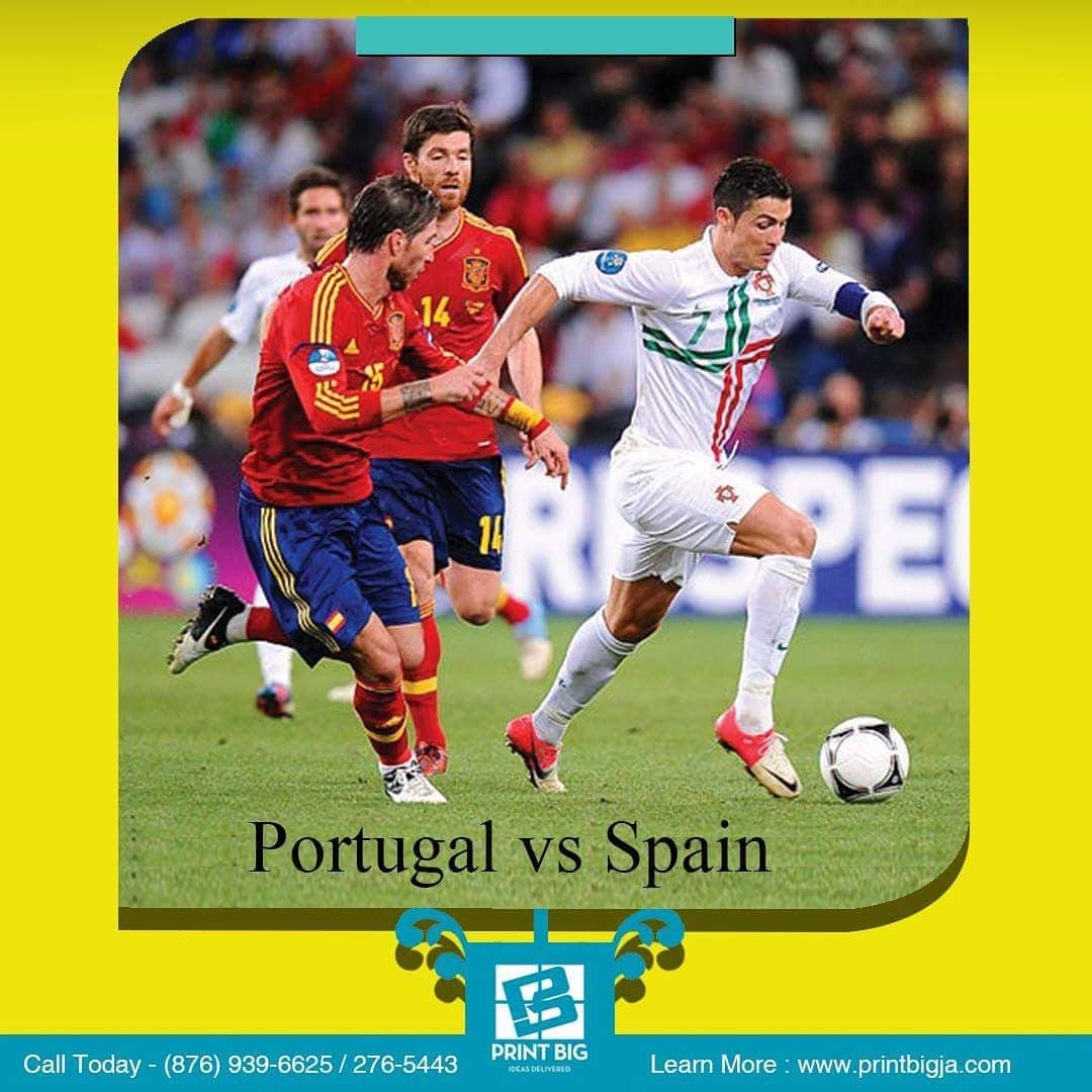 Portugal vs Spain share your predictions for today's 100pm World.com& nc cat=107