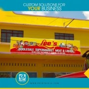 promote your business just like lee's wholesales supermarket meat & liquor with