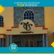 reflect your brand personality using a full range of signs and visual graphics i