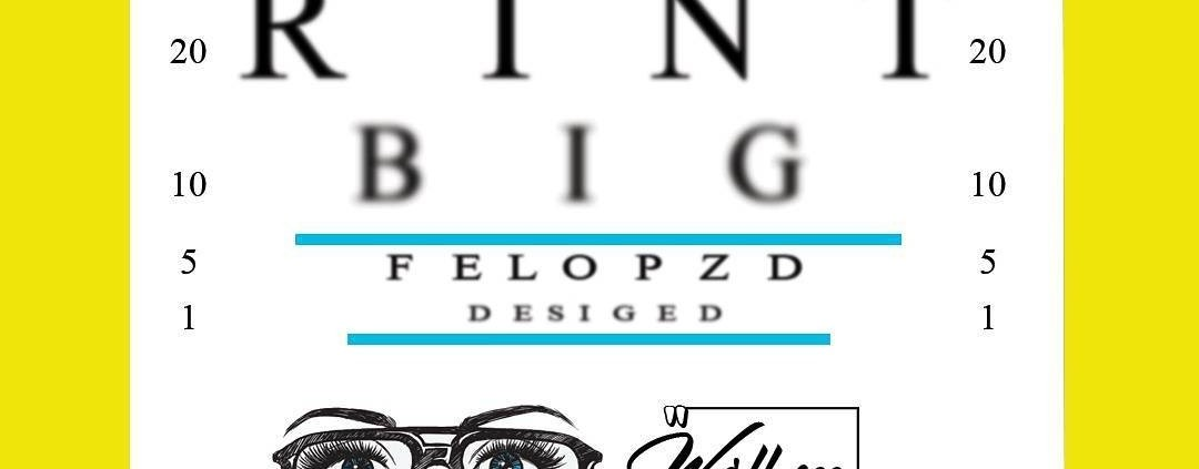 """they say seeing is believing, printbig is here to help you get seen! let us """"see"""