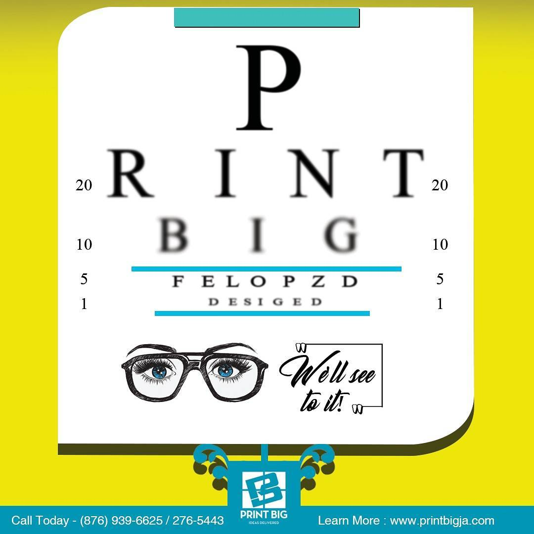 They say seeing is believing PrintBig is here to help.com& nc cat=101