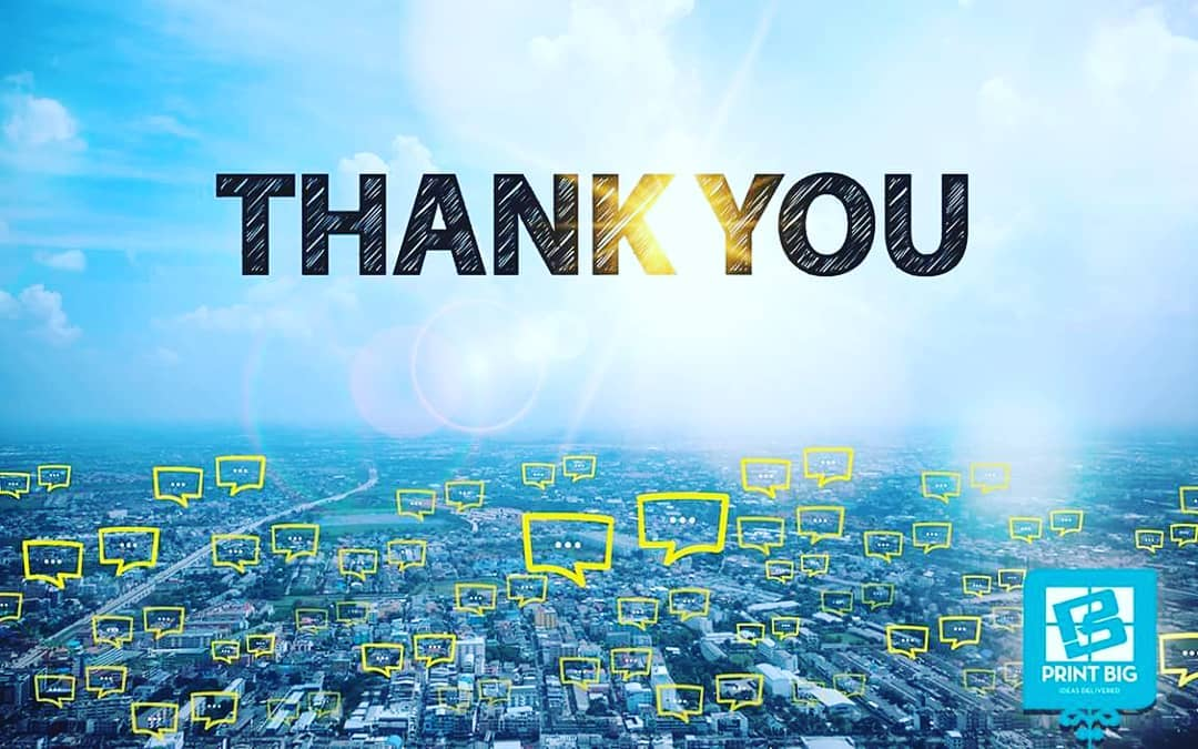 We want to say THANK YOU to our customer for.com& nc cat=105