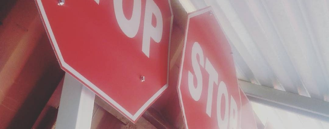 Where are the best location to position a stopsign bigtrivia