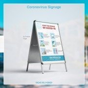 Create custom signage to let your customers know your unique