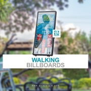 Wearable signage for your brand will help you stand out