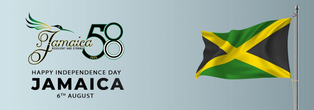 Happy Independence Day Jamaica Celebrating 58 Yea