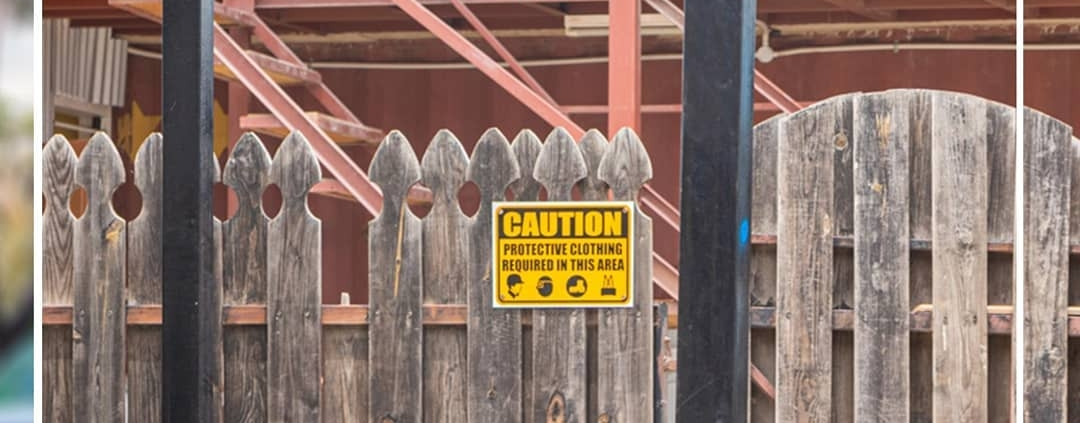 Keep employees safe with signs that inform and war