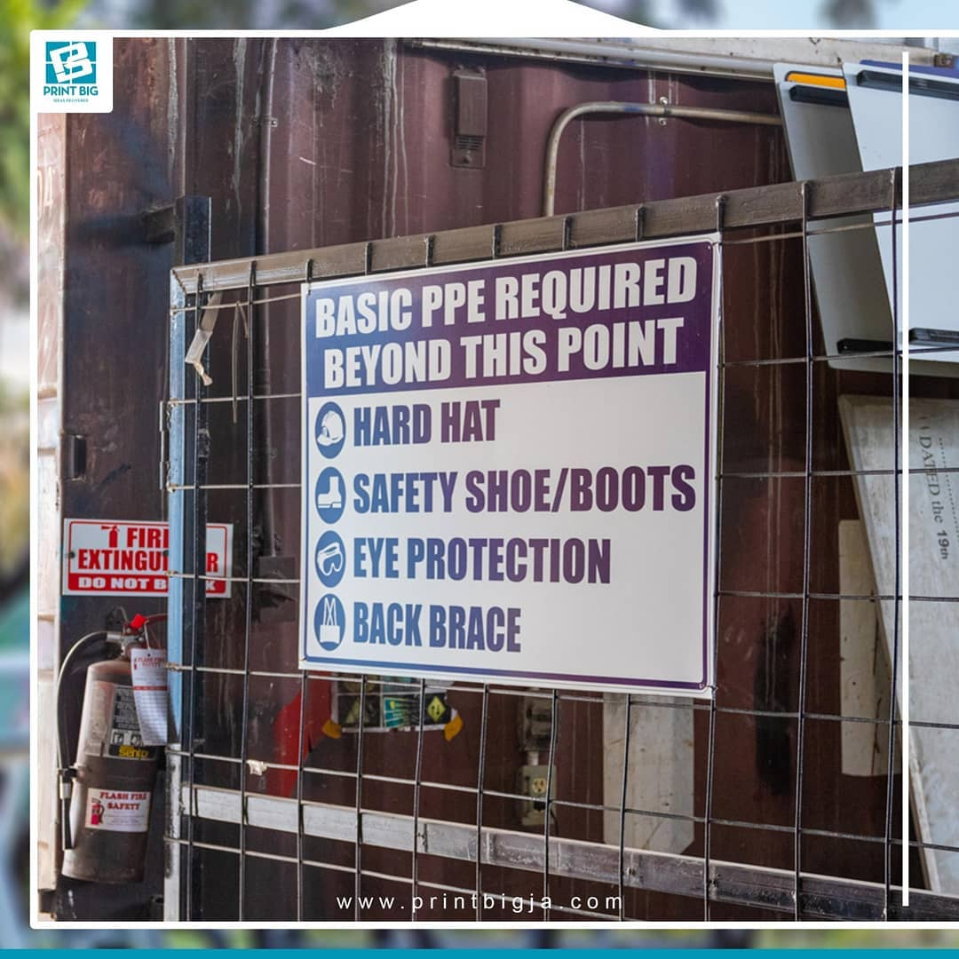1605308414 474 Protect employees with safety and regulatory signs Directional signage ensures