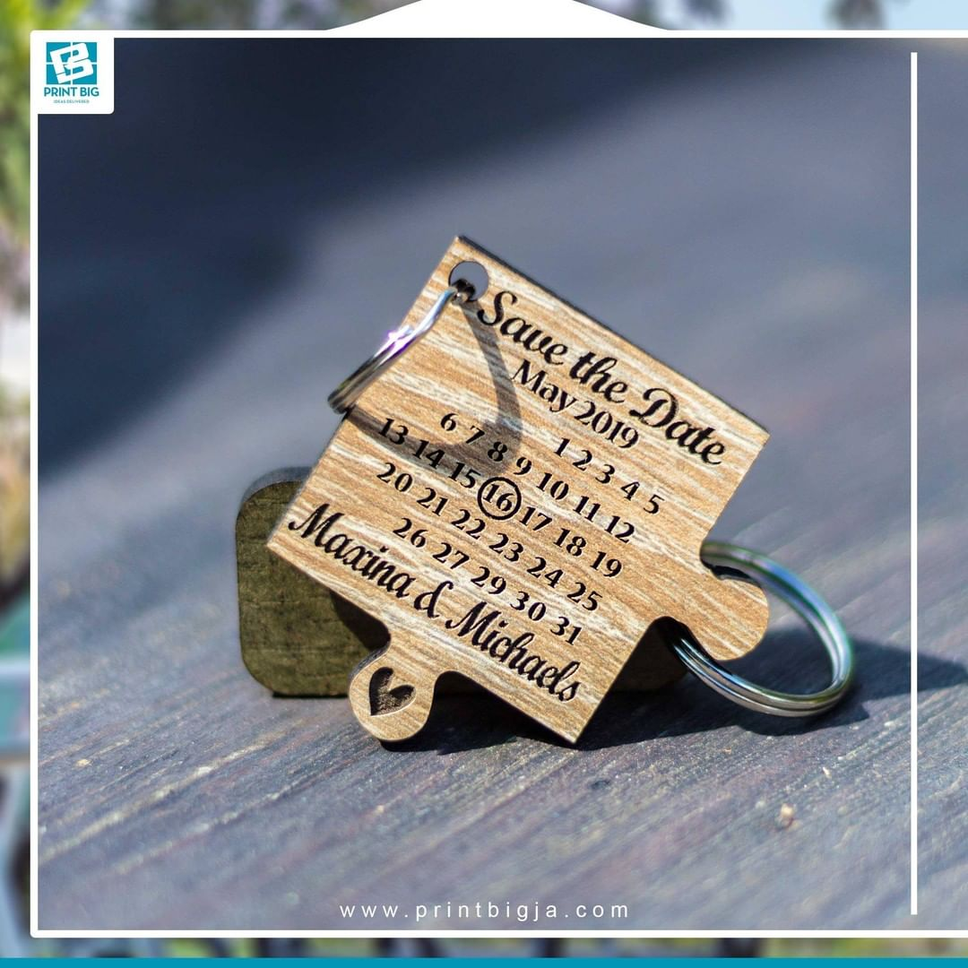 1605718817 886 Give your friends family or customers high quality personalized wood key