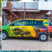 Turn your company vehicle into a rolling advertisement for your
