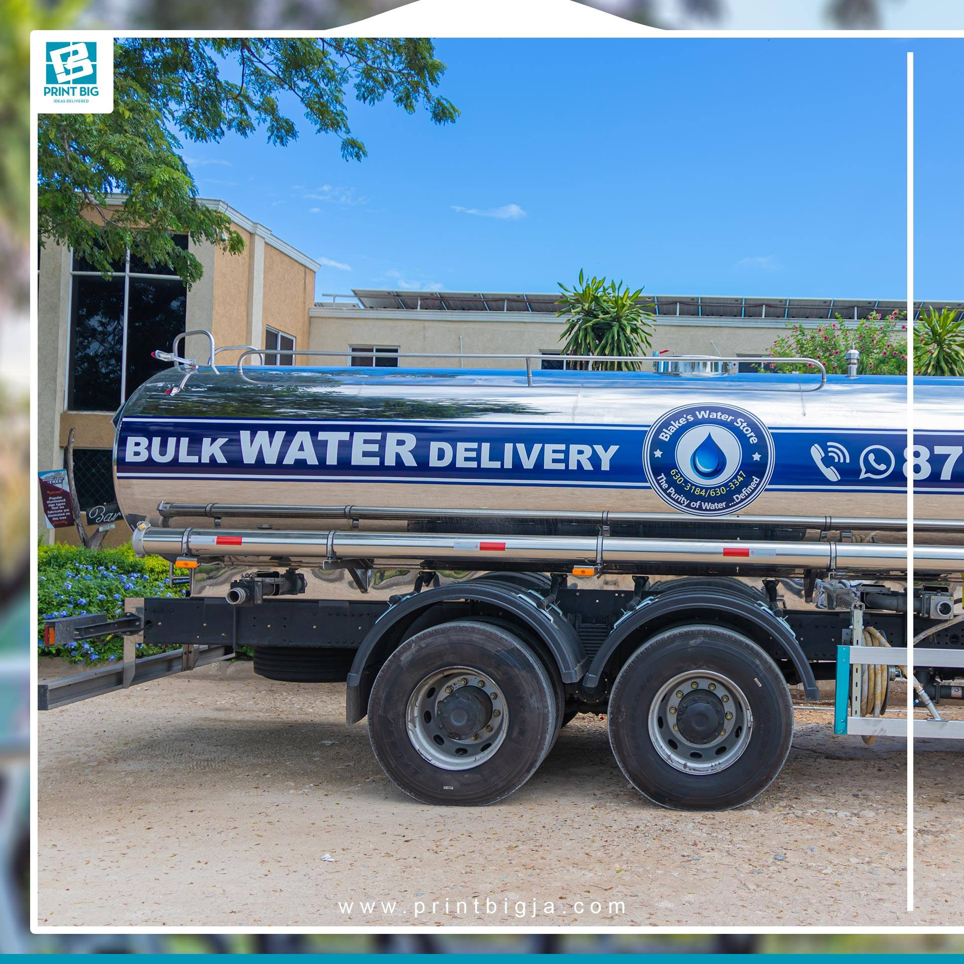 Vehicle wraps offer the ultimate in branding and