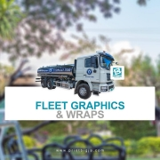 With custom fleet graphics not only do you get professionally