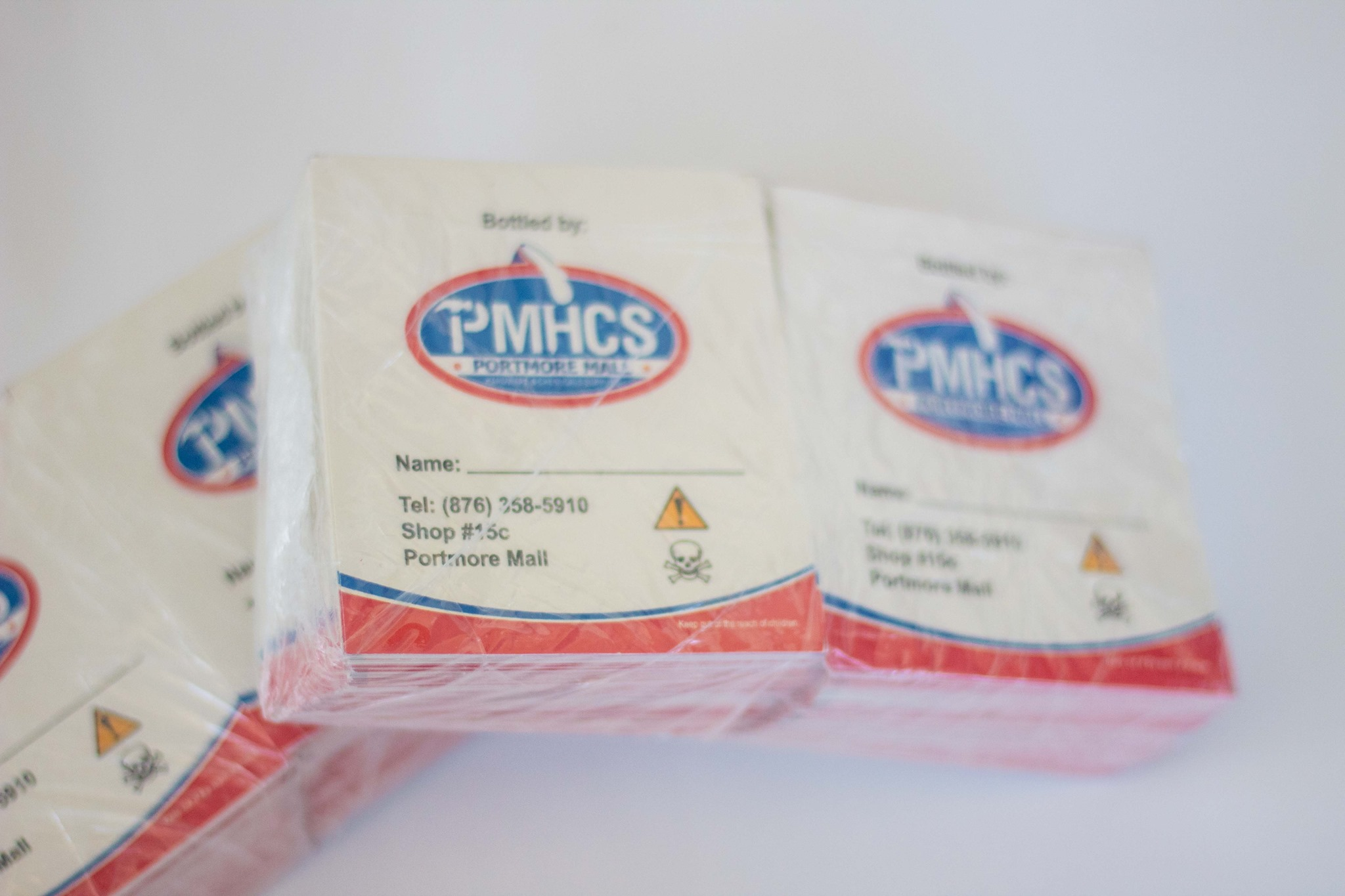 Customize any product labels to extend the brand a