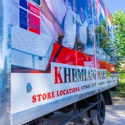 Turn your fleet of company vehicles into rolling advertisements for
