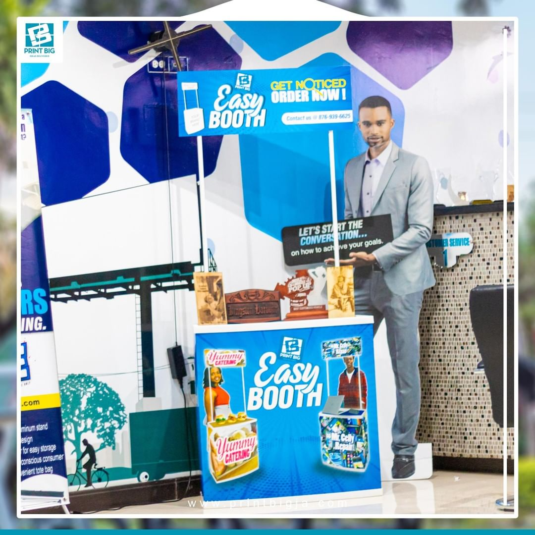 Promotion Counter Table Kiosk also Known as Easy Booth Lightweight